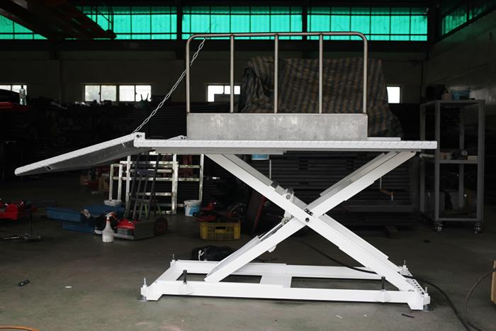 特殊規格訂製 機車升降台-福春機車升降機